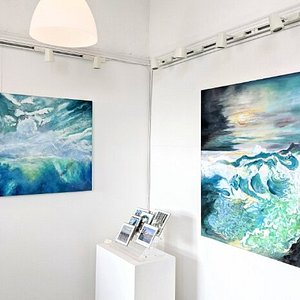 Beautiful artwork at Vandlys Galleri