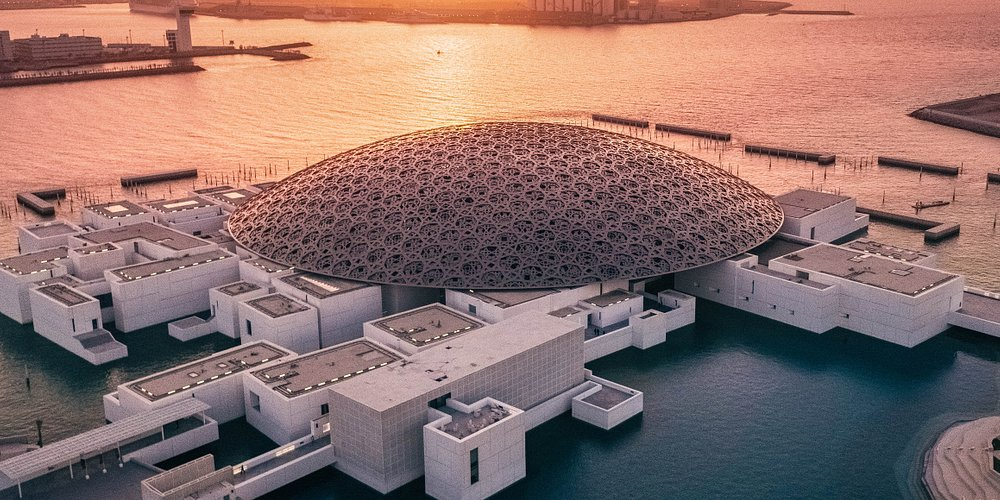 #DYK Louvre Abu Dhabi is a universal museum and a pioneering cultural project in the Arab world? The origins of #LouvreAbuDhabi date back to March 2007 when the UAE and France formed an unprecedented partnership for cultural exchange leading to the establishment of the museum on Saadiyat Island. The partnership brought to life  UAE's bold vision of cultural progression with France's expertise in the world of art and museums besides exploring and connecting humanity #StaySafe