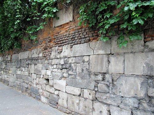 I resti delle mura