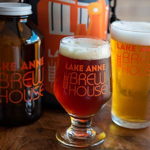 With a variety of styles on tap and canned at all times, there is always something for everyone at Lake Anne Brew House.