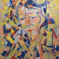 volto di fanciullo  Il pittore Renato Mazza che rende realistica e verosimile un'immagine attraverso le emozioni