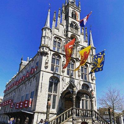 Het laat Gotische Stadhuis in Gouda 1450