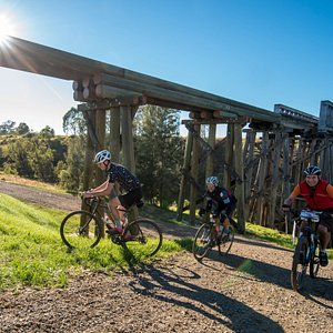 The Heritage Listed Lockyer Creek Bridge