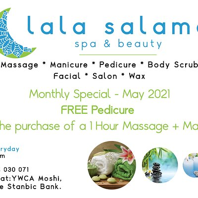 Why not give yourself a bit of love in time?  New #monthlyoffer at #LalaSalamaSpa #spa #moshi #lalasalamaspaandbeauty