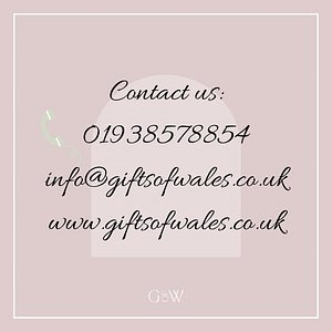Updated contact details. We are also on Facebook and Instagram @giftsofwales
