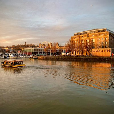 Arnolfini at the heart of Bristol's harbourside. image by Hannah Atkinson
