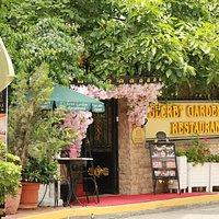 Entrance of Secret Garden Restaurant