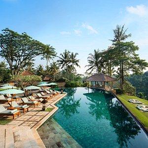 Luxury hotel resort in Bali - Ubud   Amandari   Swimming Pool