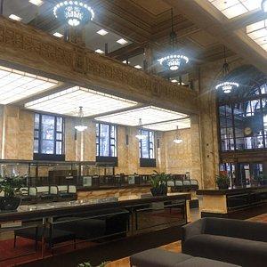 Westpac interior and museum