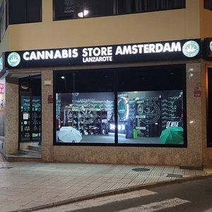CBD STORE Cannabis Store Amsterdam Lanzarote.