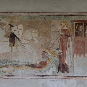 Reformoierte Kirche Bever San Giachem (Bever GR)