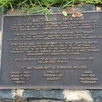 11th Battalion Plaque