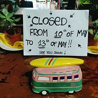 Closed from 10 to 13 of may !!