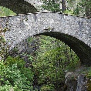 Brücke Punt'Ora / Pont Punt'Ora (Pontresina GR)
