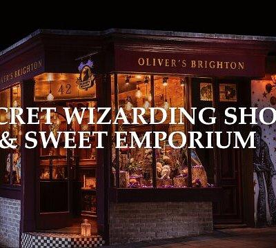 Secret wizarding shop & sweet emporium