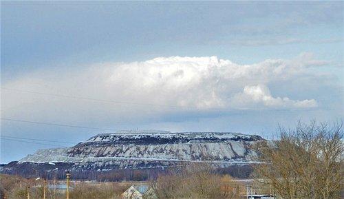 Гипсовая гора в окрестностях Воскресенска