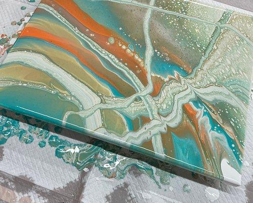 Hawaii Fluid Art