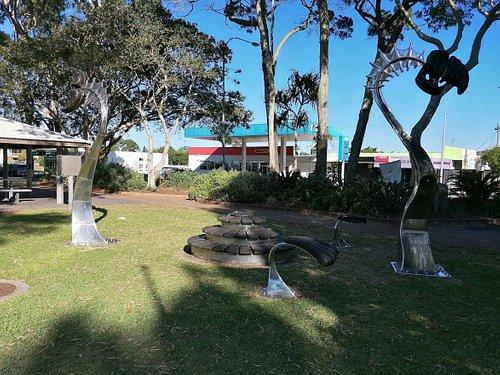 Torquay outdoor art installation