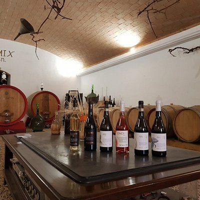 I nostri vini nella bottaia ove alcuni completano l'affinamento