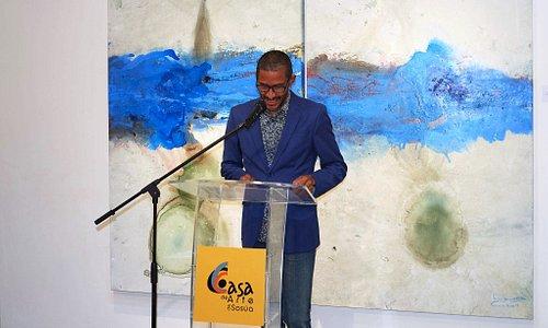 Mr. Adolfo Faringthon Casa de Arte director.