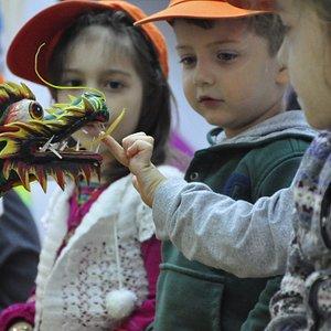 Baba ejderhanın dişlerini bile sayabilirsiniz :))