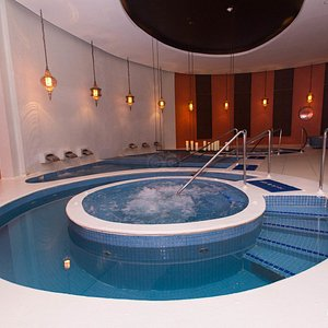 The Pool at the Rock Spa in the Hard Rock Hotel.