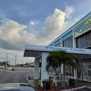 We are located on A1A in Cocoa Beach.  1355 North Atlantic Ave (across from Lori Wilson Park with public beach access).