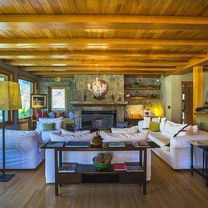 Living Room At Rio Hermoso Hotel