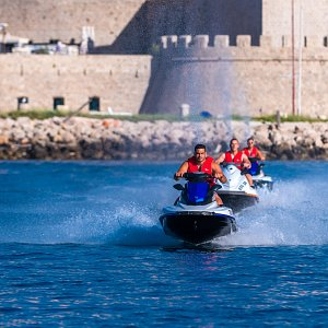 From the moment you climb on a jet ski you will feel the excitement takeover