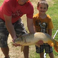 Big carp at Red's Lake