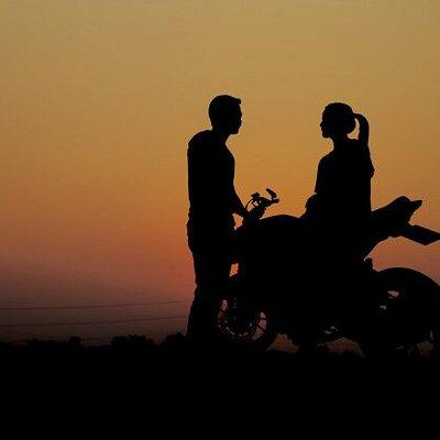Bike rented from Intwiff.com  Intwiff is the best bike rental service in Uttarakhand I love It