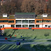 Ośrodek Szczęśliwice - widok ze stoku narciarskiego