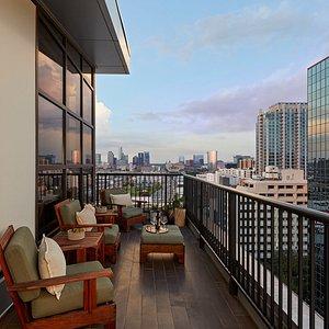 Penthouse East Balcony