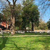 Churchyard seating April 2021