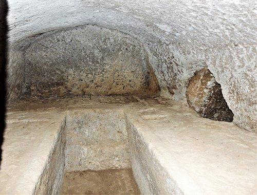 Necropoli etrusca -Interno