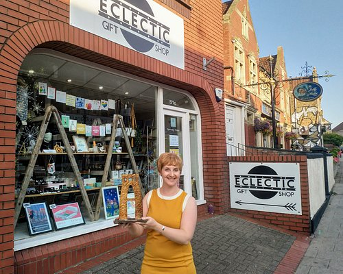Shop Owner, Nicola Bartlett, with The Bristol Life Award 'Retailer of the Year' 2020 trophy. When you shop with us, you are directly supporting the designer of each item so you know you're spending your money where it matters.