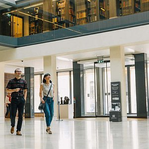 The Weston Library offers free exhibitions, displays, a café, a gift shop and more.