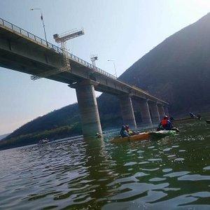Vista del Puente del CAbra Corral