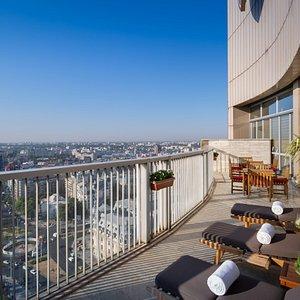 sunbath terrace
