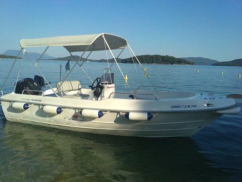 IONION 7 motorboat