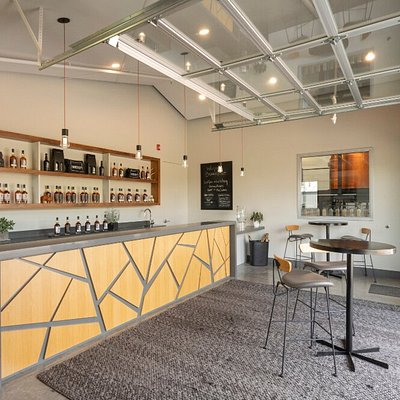Inside Branch Point tasting room.