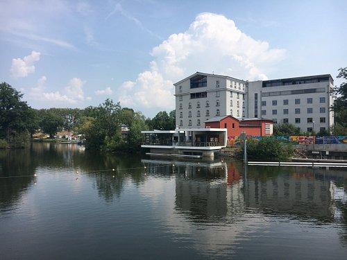 Blick von der anderen Flussseite