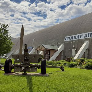 Combat Air Museum main hangar 602 at 7016 SE Forbes Avenue, Topeka, KS 66619