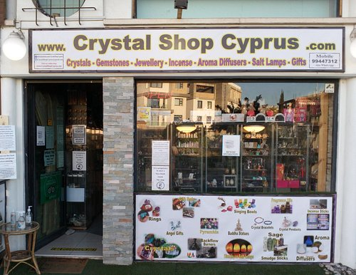 The Crystal Shop Cyprus is located in Paphos, Cyprus. Visit our website. www.CrystalShopCyprus.com