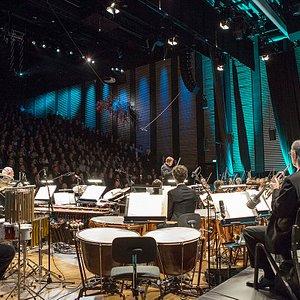 Fra åpningskonserten med KORK - oktober 2014