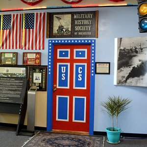 OUR ENTRANCE - A SPECIAL EXHIBIT OF THE VIETNAM MEMORIAL AT HIGHLAND PARK