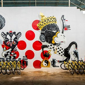 Mural Art & Bicycle