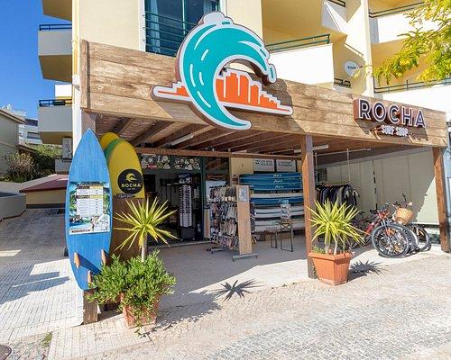 Rocha Surf Shop entrance