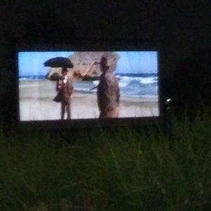 Screen from afar