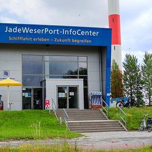 Das JadeWeserPort-InfoCenter